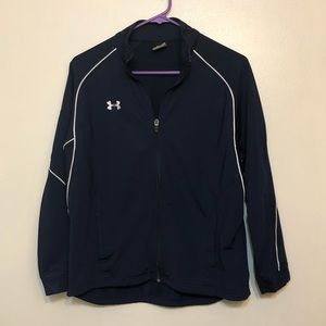 Boys light weight Under Armour jacket size XL